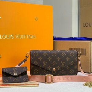 🌺Louis Vuitton🌺 classic three-in-one shoulder bag SIZE 8.6W x 4.3